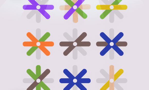 Popsicle Sticks Puzzle Ekran Görüntüleri - 2