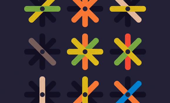 Popsicle Sticks Puzzle Ekran Görüntüleri - 5