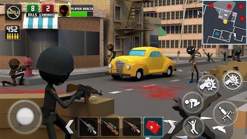 Stickman Royale : World War Battle Ekran Görüntüleri - 1