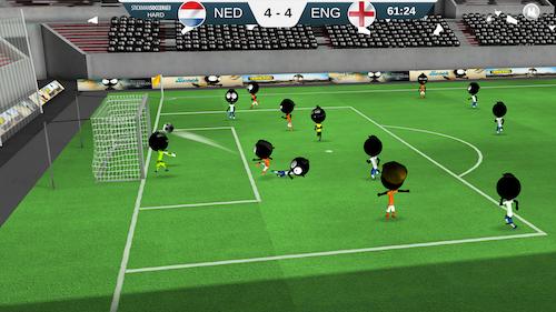 Stickman Soccer 2018 Ekran Görüntüleri - 1