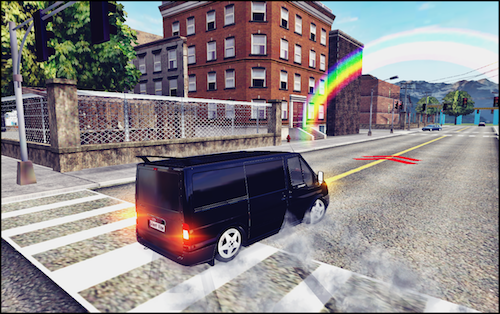 Transit Drift & Driving Simulator Ekran Görüntüleri - 5