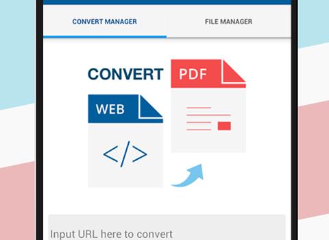 Convert web to PDF Ekran Görüntüleri - 1