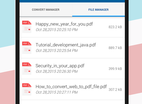 Convert web to PDF Ekran Görüntüleri - 3