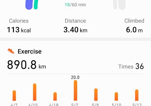 Huawei Health Ekran Görüntüleri - 1