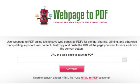Webpage to PDF Ekran Görüntüleri - 1