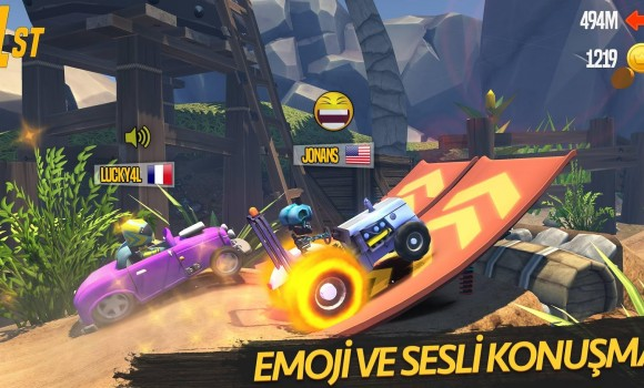 MaxUp : Multiplayer Racing 1 - 1