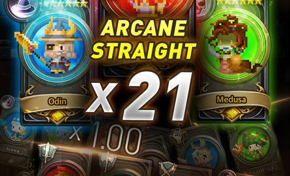 Arcane Straight: Summoned Soul 1 - 1