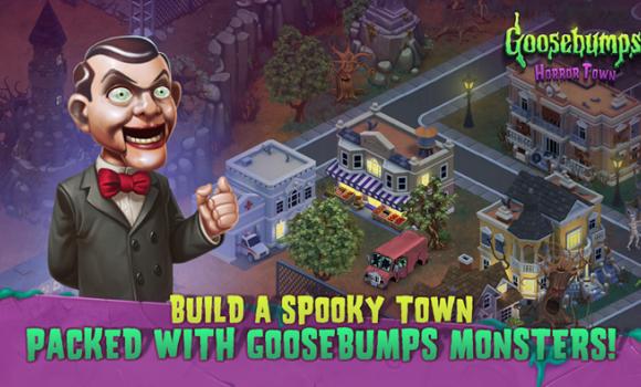 Goosebumps HorrorTown - Monsters City Builder Ekran Görüntüleri - 1