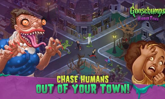 Goosebumps HorrorTown - Monsters City Builder Ekran Görüntüleri - 2