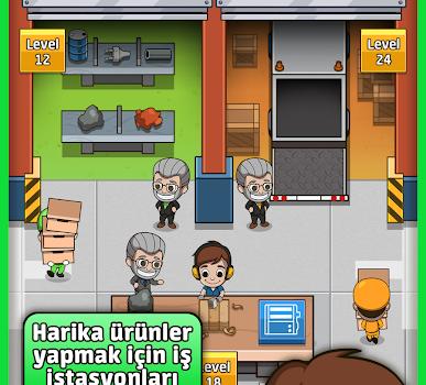 Idle Factory Tycoon Ekran Görüntüleri - 1
