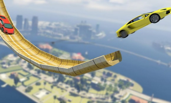 Mega Ramp: Impossible Stunts 3D Ekran Görüntüleri - 1