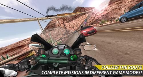 Moto Rider In Traffic Ekran Görüntüleri - 1