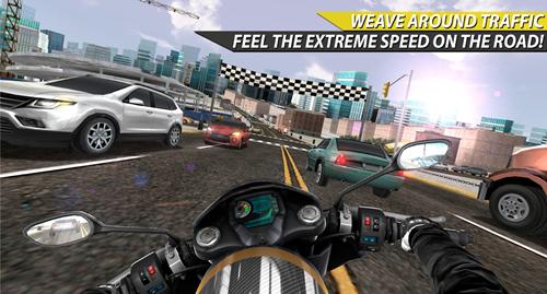 Moto Rider In Traffic Ekran Görüntüleri - 2