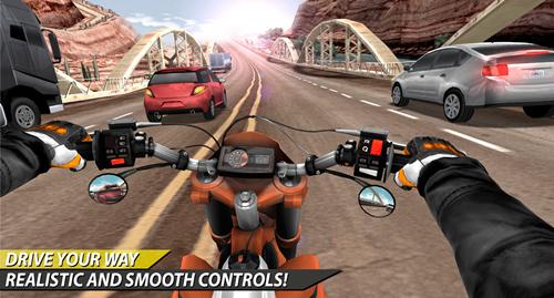 Moto Rider In Traffic Ekran Görüntüleri - 3