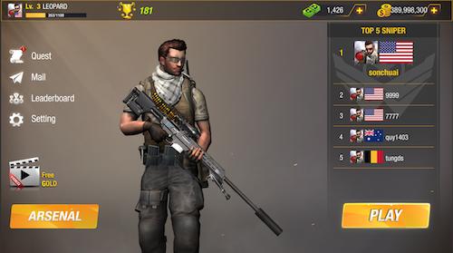 Bullet Strike: Sniper Battlegrounds Ekran Görüntüleri - 1