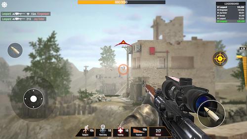 Bullet Strike: Sniper Battlegrounds Ekran Görüntüleri - 2