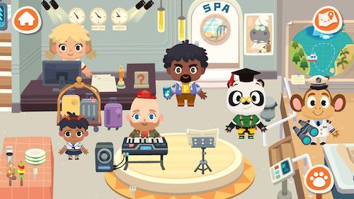 Dr. Panda Town: Holiday Ekran Görüntüleri - 7