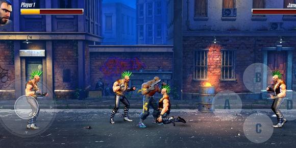 Fury Streets Ekran Görüntüleri - 1