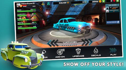 Rocket Carz Racing Ekran Görüntüleri - 5