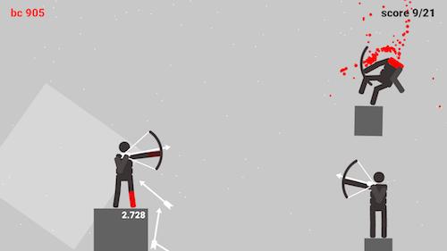Stickman Archers: Bloody Rampage Ekran Görüntüleri - 1
