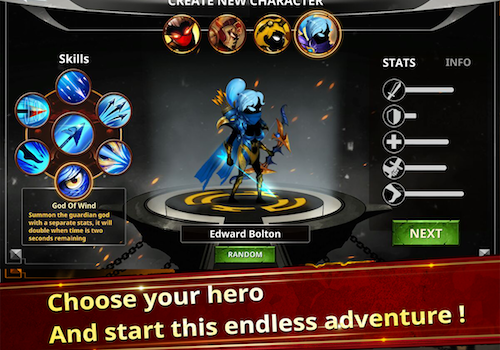 Stickman Legends Ekran Görüntüleri - 3