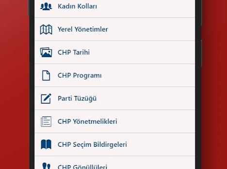 CHP Mobil Ekran Görüntüleri - 2