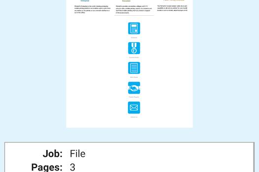 PrinterOn Ekran Görüntüleri - 2