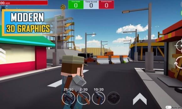 Versus Pixels Battle 3D Ekran Görüntüleri - 2