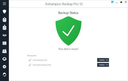 Ashampoo Backup Pro Ekran Görüntüleri - 1
