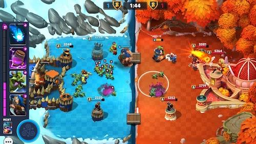 Castle Creeps Battle Ekran Görüntüleri - 1