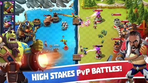 Castle Creeps Battle Ekran Görüntüleri - 2