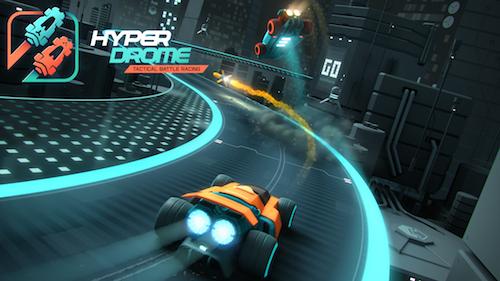 Hyperdrome - Tactical Battle Racing Ekran Görüntüleri - 1