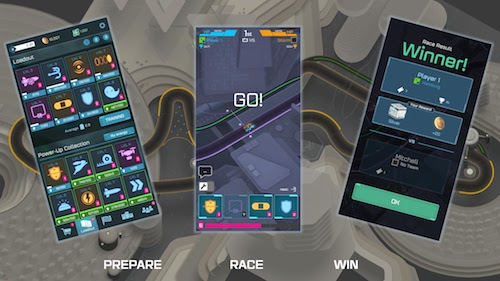 Hyperdrome - Tactical Battle Racing Ekran Görüntüleri - 6
