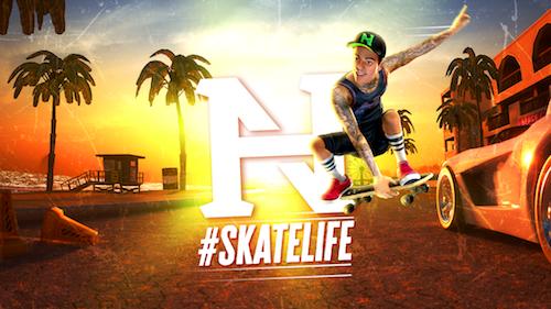 Nyjah Huston: #SkateLife Ekran Görüntüleri - 1