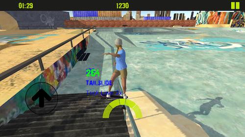 Skateboard FE3D 2 Ekran Görüntüleri - 2