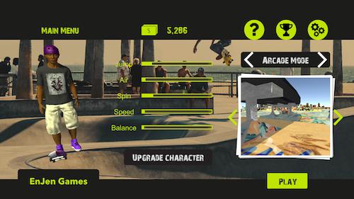 Skateboard FE3D 2 Ekran Görüntüleri - 4