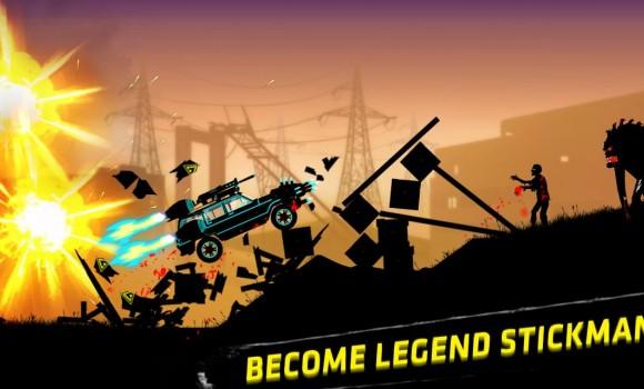 Stickman Racer: Survival Zombie Ekran Görüntüleri - 3