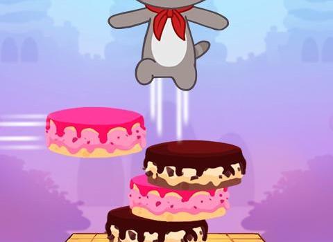 Talking Tom Cake Jump Ekran Görüntüleri - 1