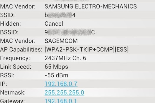 Network Info II Ekran Görüntüleri - 1