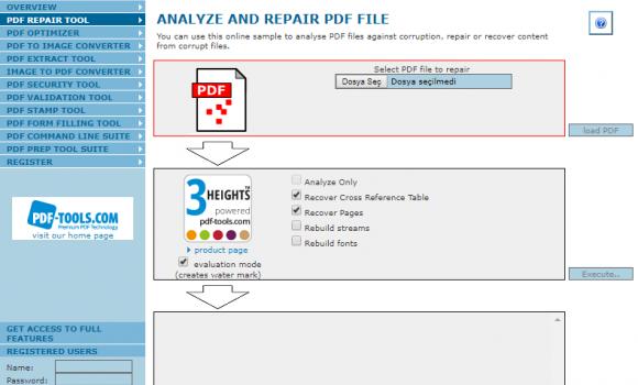 PDF Online Ekran Görüntüleri - 1