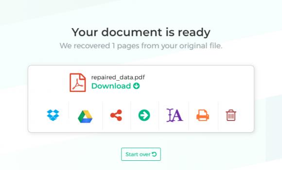 Sejda Repair PDF Ekran Görüntüleri - 2