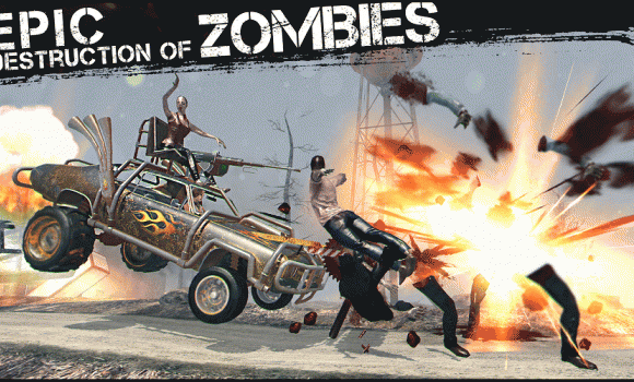 Zombies, Cars and 2 Girls 1 - 1