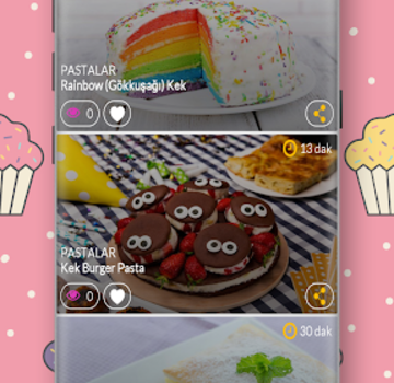 Pasta Tarifleri Ekran Görüntüleri - 1