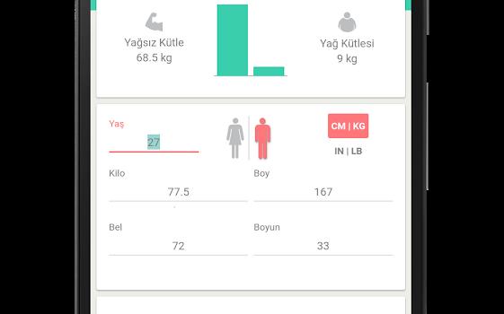 ideal kilo hesaplama uygulaması - 4