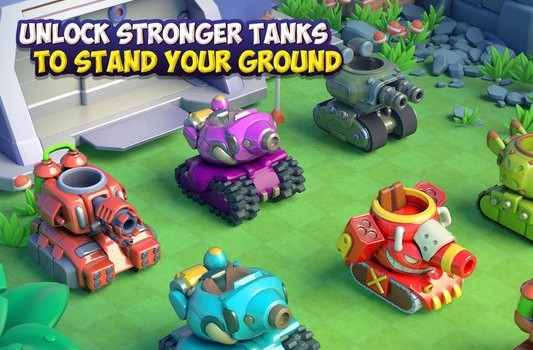 Dank Tanks Ekran Görüntüleri - 1