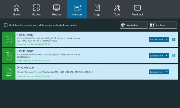 MiniTool ShadowMaker Free Ekran Görüntüleri - 2