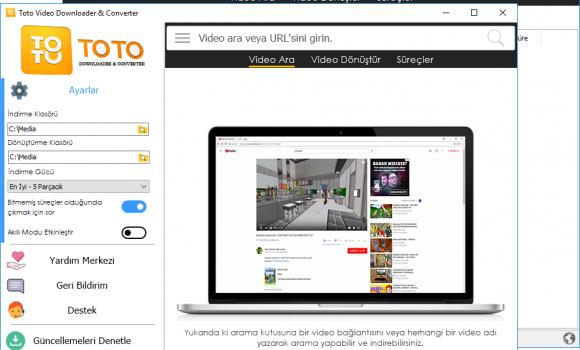 Toto Video Downloader & Converter Ekran Görüntüleri - 2