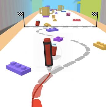 Pen Run Indir Android Için Boyama Oyunu Tamindir
