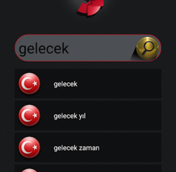 TRT Türk Lehçeleri Sözlüğü Ekran Görüntüleri - 3