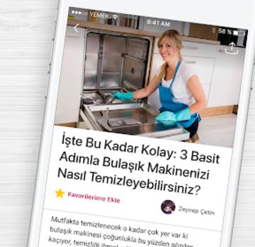 Yemek.com Ekran Görüntüleri - 4